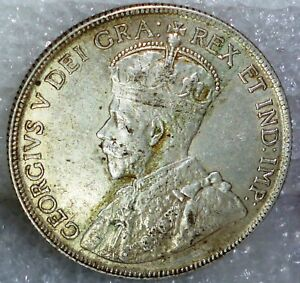 Click now to see the BUY IT NOW Price! 1917 CANADA FIFTY CENTS  50 CENTS