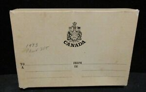 1973 CANADA DOUBLE DOLLAR PROOF SET   ORIGINAL BOX/PAPERWORK   SPOTS ON DOLLAR