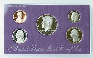 1992 UNITED STATES MINT PROOF SET   5 COINS