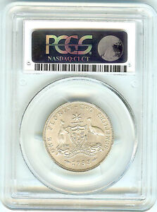 Click now to see the BUY IT NOW Price! AUSTRALIA GEORGE V  1933 PCGS AU55