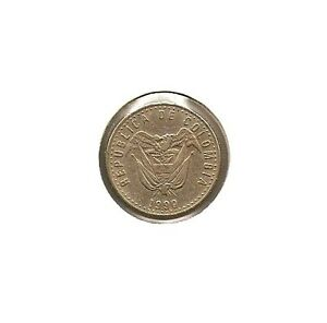 1990 COLOMBIA COIN 50 PESOS