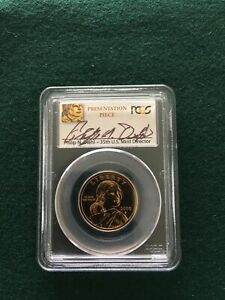 Click now to see the BUY IT NOW Price! 2000 P SACAGAWEA DOLLAR   PCGS GOODACRE PRESENTATION PIECE   SP67   DIEHL SIGNED