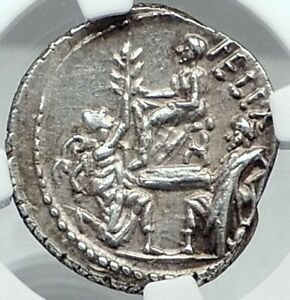 Click now to see the BUY IT NOW Price! FAUSTUS CORNELIUS SULLA & KINGS JUGURTHA BOCCHUS SILVER ROMAN 56BC COIN NGC