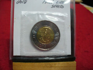 Click now to see the BUY IT NOW Price! 2018   CANADA 2$ TWO  DOLLAR  COIN  TOONIE  SEE PHOTOS  18  PROOF LIKE  SEALED