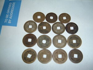 15 CH'IEN LUNG T'UNG PAO QIAN LONG TONGBAO 1736   1795 GENUINE COINS OF CHINA