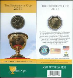 2011 THE PRESIDENTS CUP $1.00