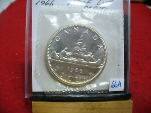 Click now to see the BUY IT NOW Price! 1966  CANADA  SILVER  DOLLAR  1$   HIGH   GRADE    66A    PROOF  LIKE    SEALED