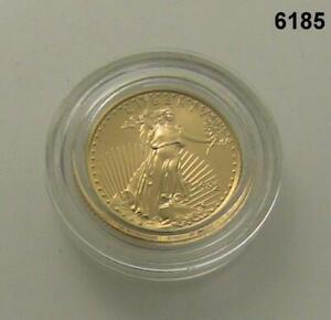1992 1/10 OZ GOLD AMERICAN EAGLE LOW MINTAGE IN BOX 6185