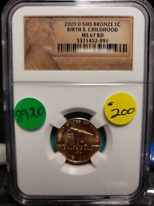 Click now to see the BUY IT NOW Price! 2009 D SMS LINCOLN CENT BIRTH & CHILDHOOD CERTIFIED 8920