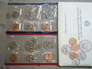 1989 UNITED STATES UNCIRCULATED MINT SET IN ORIGINAL ENVELOPE    UNCERTIFIED