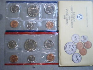 1990 UNITED STATES UNCIRCULATED MINT SET IN ORIGINAL ENVELOPE    UNCERTIFIED
