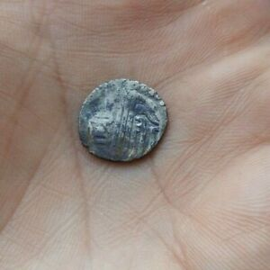 OLD ISLAMIC SMALL COIN   AKCHE OR ANOTHER. SILVER. 1400 1500 YEARS.