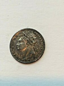 1824 MAUNDY G. BRITAIN 1 PENCE PENNY UNC GRADE