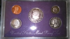 1988 UNITED STATES MINT PROOF SET IN ORIGINAL PURPLE BOX