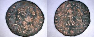375 378AD ROMAN IMPERIAL VALENTINIAN II AE16 VICTORY ADVANCING LEFT   TYPE 19