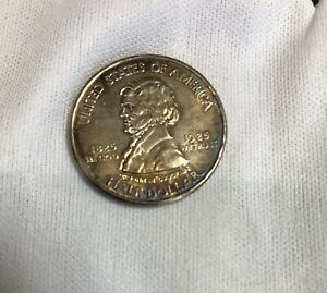 1925 FORT VANCOUVER CENTENNIAL COMMEMORATIVE SILVER HALF DOLLAR GORGEOUS TONING