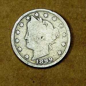 1899 LIBERTY HEAD V NICKEL      90615206