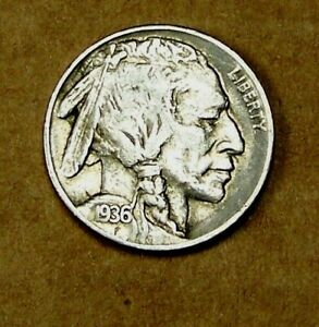 1936 S  SAN FRANCISCO MINT BUFFALO HEAD NICKEL      90615208