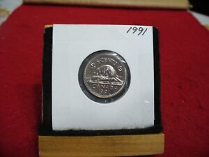 1991  CANADA  1  NICKEL 5 CENTS  COIN  PROOF LIKE SEALED  91    HIGH  GRADE