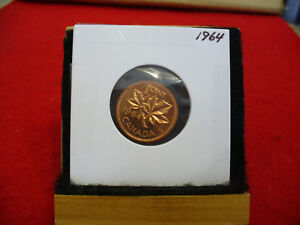 1964  CANADA  1  CENT COIN  PENNY  PROOF LIKE  HIGH  GRADE  SEALED  SEE PHOTOS