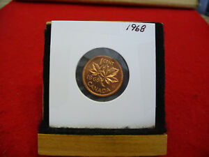 1968  CANADA  1  CENT COIN  PENNY  PROOF LIKE  HIGH  GRADE  SEALED  SEE PHOTOS