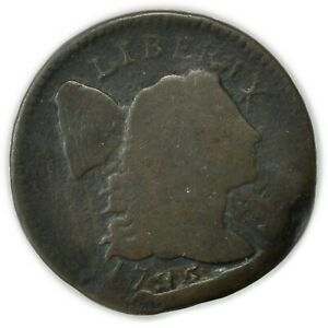 1795 LIBERTY CAP LARGE CENT LETTERED EDGE TOUGH EARLY COPPER COIN [4314.170]