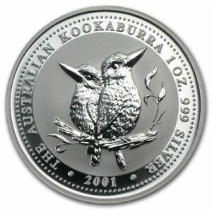 Click now to see the BUY IT NOW Price! AUSTRALIA $1 KOOKABURRA 2001   PERTH MINT  1 OZ .999 SILVER COIN IN CAPSULE