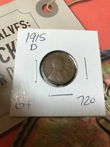 1915 D LINCOLN CENT G  720