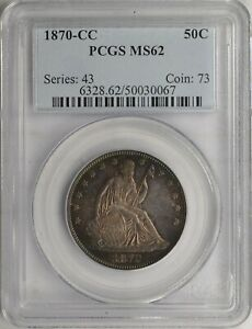 Click now to see the BUY IT NOW Price! 1879 CC 50C MS62 PCGS