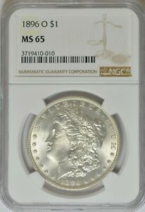 Click now to see the BUY IT NOW Price! 1896 O $1 MS65 NGC