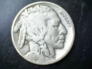 1919 P BUFFALO NICKEL WITH A REVERSE CUD CIRCULATED UNCERTIFIED