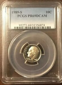 LOT OF 2 PCGS CERTIFIED ROOSEVELT 10