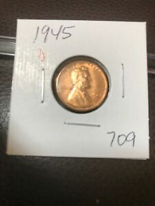1945 D LINCOLN CENT NICE  709