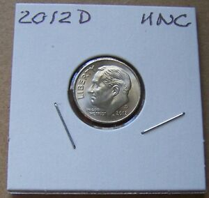 2012 D UNCIRCULATED ROOSEVELT DIME