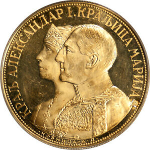 Click now to see the BUY IT NOW Price! YUGOSLAVIA 1931 K GOLD PROOFLIKE 4 DUCATS PCGS MS 62