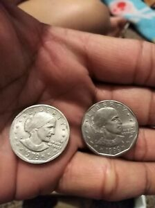 Click now to see the BUY IT NOW Price! SUSAN B ANTHONY ONE DOLLAR 1979 1999 UNGRADED TWO COINS