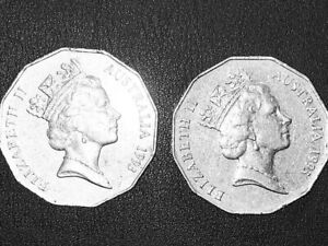 1993 AUSTRALIAN 50 CENT 1 X COIN LOW MINTAGE 50 CENTS COIN