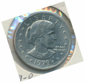 UNITED STATES 1979 P ONE DOLLAR SUSAN B. ANTHONY LIBERTY COIN