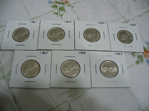 Click now to see the BUY IT NOW Price! LOT OF  7  1961 1967   CANADA  SILVER QUARTERS  HIGH  GRADES       NOT JUNK
