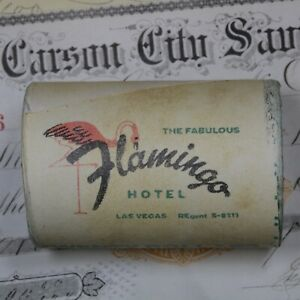 Click now to see the BUY IT NOW Price! OLD FLAMINGO CASINO SHOTGUN ROLL OF MORGAN & PEACE DOLLARS $20 1900 & 1882 ENDS
