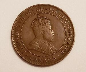 1907 CANADA LARGE PENNY