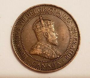 1908 CANADA LARGE PENNY