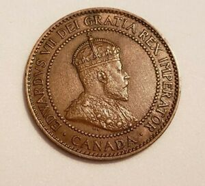 1910 CANADA LARGE PENNY