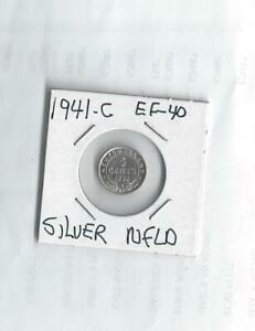 1941 C SILVER NICKEL  FROM CANADA   NFLD