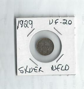 1929 SILVER NICKEL  FROM CANADA   NFLD