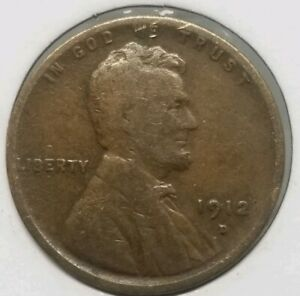 1912 D LINCOLN WHEAT SMALL CENT