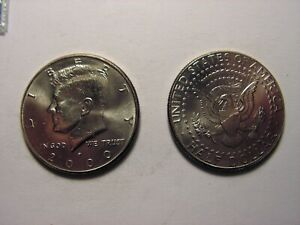 2000   P KENNEDY HALF DOLLAR  LOOKS LIKE IT IS IN UNC. CONDITION