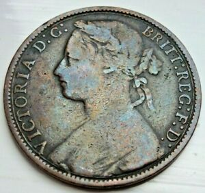 1875 VICTORIA PENNY. WIDER DATE IN HIGH GRADE  LOT 11