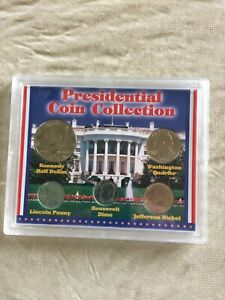 1994 SEALED PRESIDENTIAL COIN COLLECTION 5 UNCIRCULATED COINS
