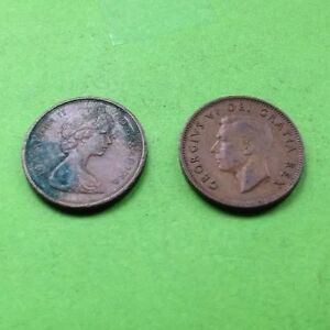 CANADA COINS 1950 & 1966 CANADIAN